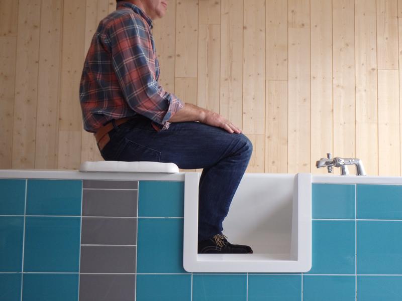 D coupe de baignoire ouverture avec ou sans ajout de porte for Ou acheter sa baignoire