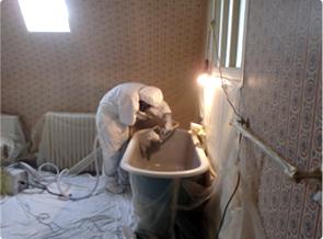 reemaillage de baignoire
