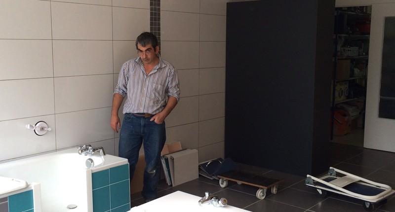 SO BAIN, Didier HOUQUES, Technicien
