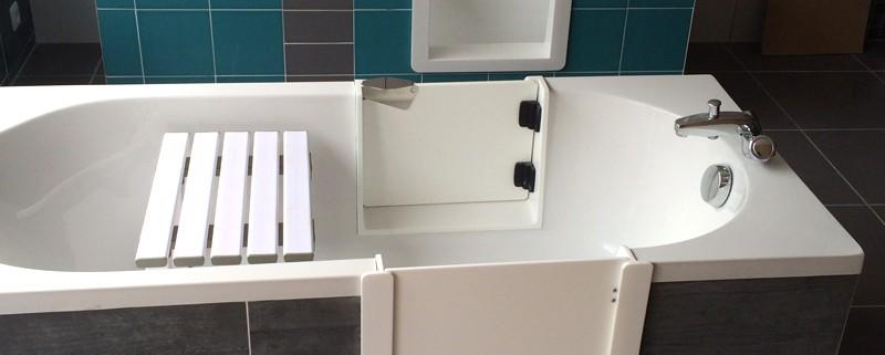 SO BAIN showroom - Découpe de baignoire