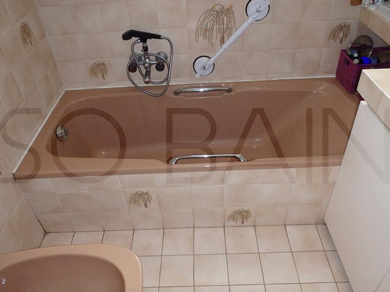Baignoire avec porte tanche 100 le bain s curit - Dip etanche avant carrelage ...