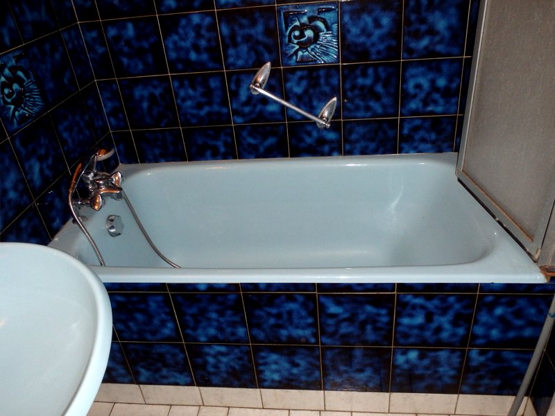 Baignoire avant découpe