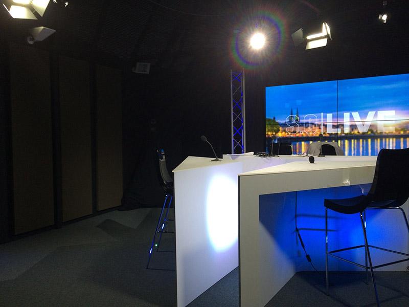 SOBAIN invité à l'inauguration TV7