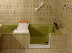 Solution 1 : Ouverture de baignoire